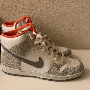 Nike Cheetah Print High Tops